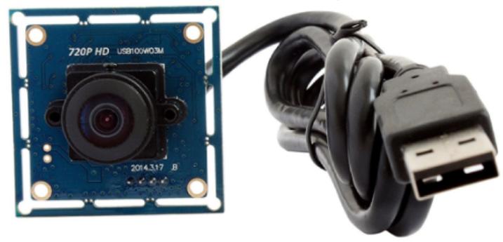 LED監視、魚眼カメラ